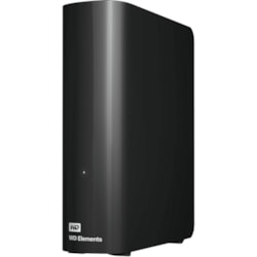 WD Elements WDBBKG0120HBK 12 TB Desktop Hard Drive - External - Black