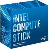 Intel Compute Stick STK1AW32SC PC Stick for LCD Display - Stick - Black