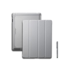 Cooler Master C-IP3F-CTWU-SS Carrying Case (Folio) Apple iPad Tablet - Silver, White