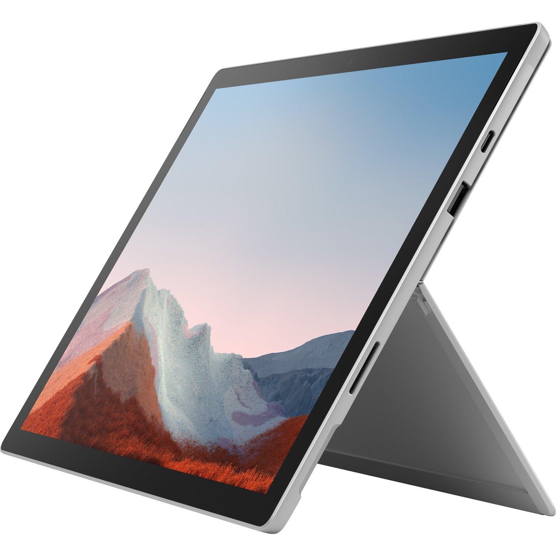 "Microsoft Surface Pro 7+ Tablet - 31.2 cm (12.3"") - Intel Core i5 11th Gen i5-1135G7 Quad-core (4 Core) 2.40 GHz - 8 GB RAM - 256 GB SSD - Windows 10 Pro - Platinum"