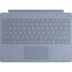 Microsoft Signature Type Cover Keyboard/Cover Case Microsoft Surface Pro (5th Gen), Surface Pro 3, Surface Pro 4, Surface Pro 6, Surface Pro 7 Tablet - Ice Blue