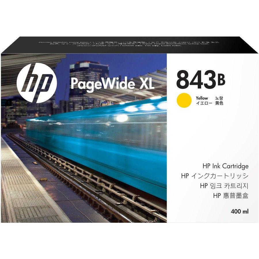 HP 843B Original Ink Cartridge - Yellow