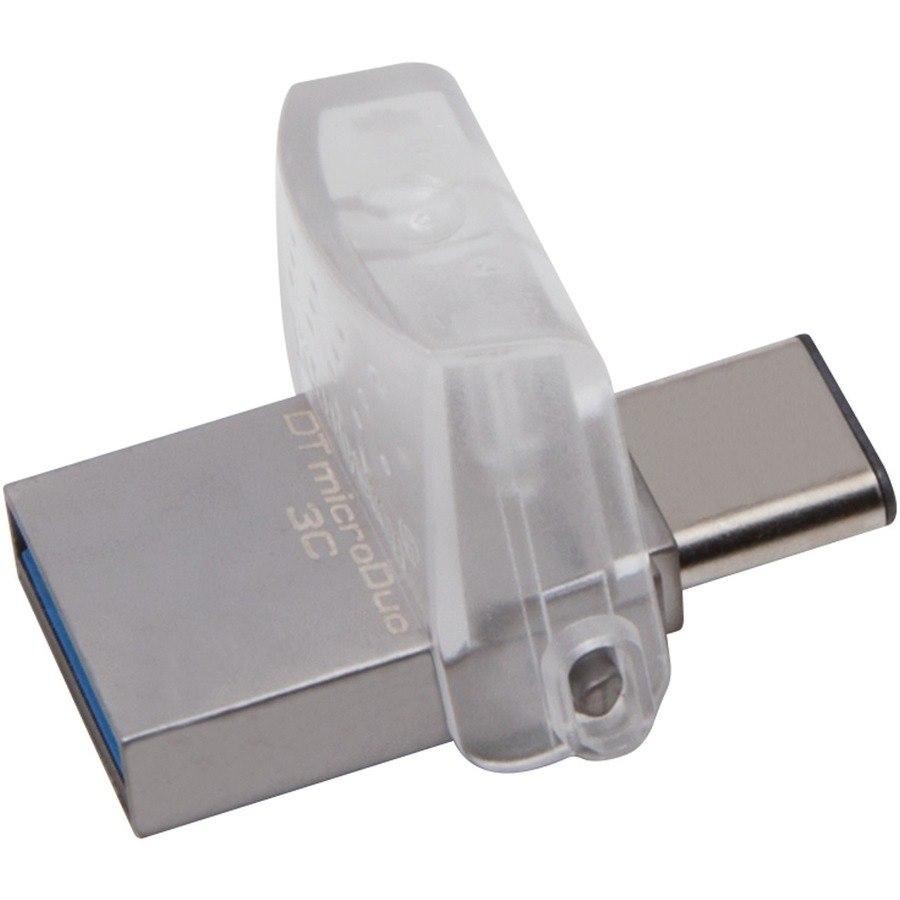 Kingston DataTraveler microDuo 3C 32 GB USB 3.1 Type A, USB 3.1 Type C Flash Drive