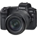 Canon EOS R 30.3 Megapixel Mirrorless Camera with Lens - 24 mm - 105 mm - Black