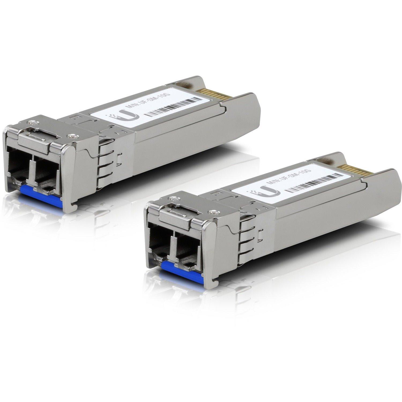 Ubiquiti U Fiber UF-SM-10G SFP+ - 1 x LC Duplex 10GBase-X Network