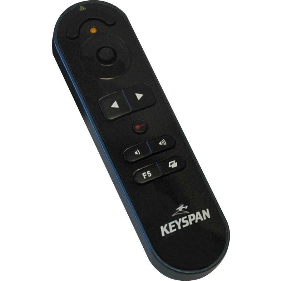 Tripp Lite Keyspan Presentation Pro Wireless Remote Conrtol w/ Laser/ Mouse / Audio Black 100ft