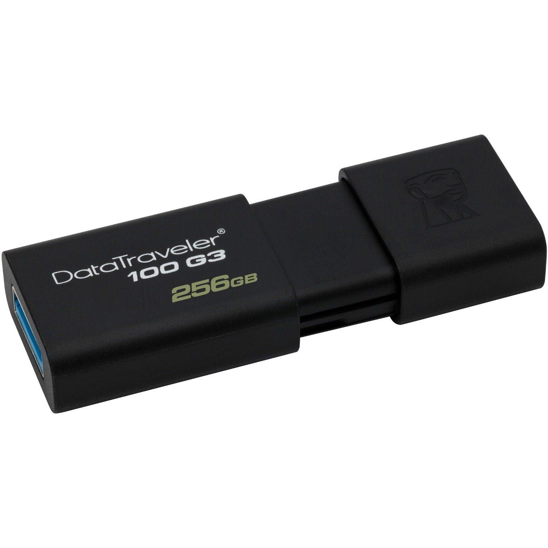 Kingston 256GB DataTraveler 100 G3 USB 3.0 Flash Drive
