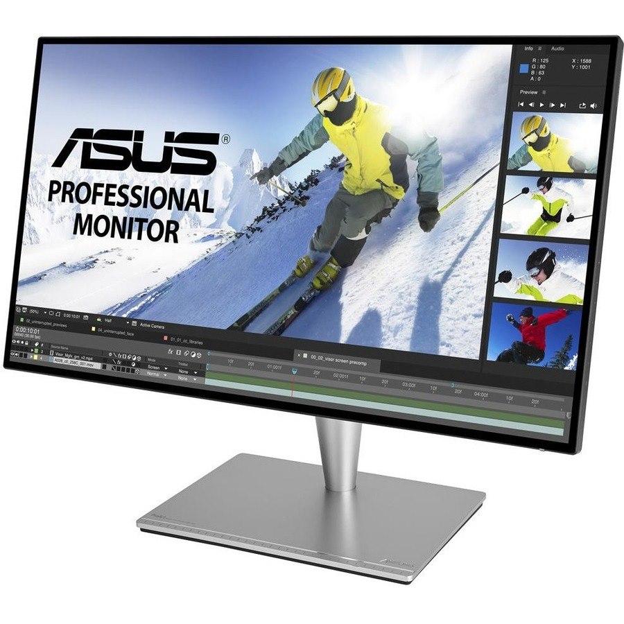 """Asus ProArt PA27AC 68.6 cm (27"""") WQHD LED LCD Monitor - 16:9 - Grey"""