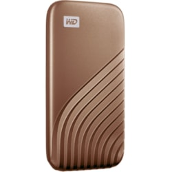 SanDisk My Passport WDBAGF5000AGD-WESN 500 GB Portable Solid State Drive - External - Gold