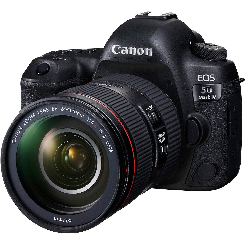 Canon EOS 5D Mark IV 30.4 Megapixel Digital SLR Camera with Lens - 24 mm - 105 mm