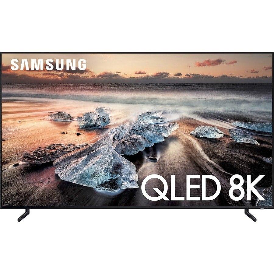 """Samsung Q900 QN75Q900RBF 74.5"""" Smart LED-LCD TV - 8K UHD - Black"""