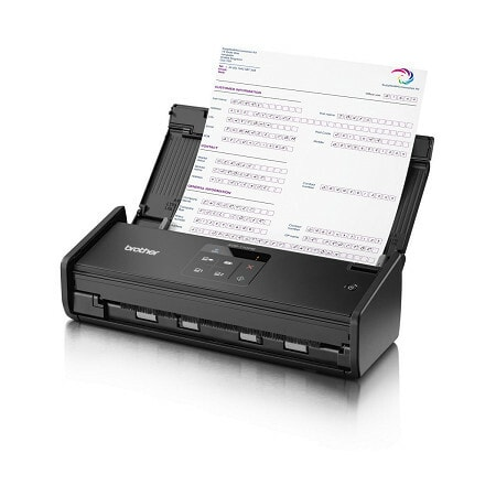 Brother ADS-1100W Sheetfed Scanner - 600 dpi Optical