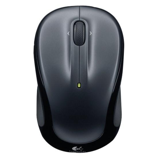 Logitech M325 Mouse - Radio Frequency - USB - Optical - Dark Silver