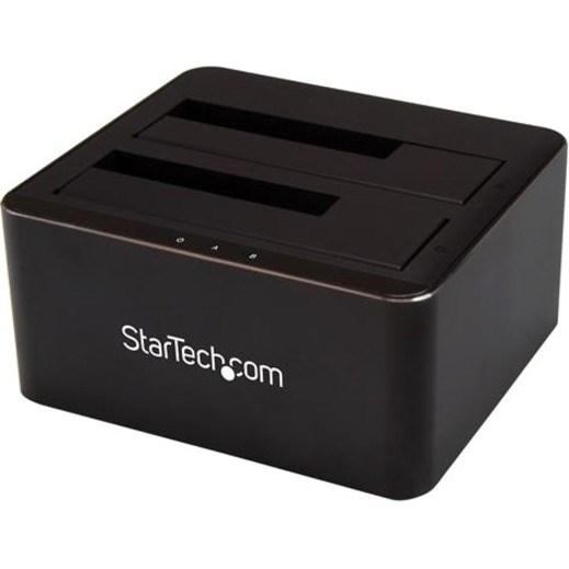 StarTech.com Drive Dock - USB 3.1 Type B Host Interface - UASP Support External - Black