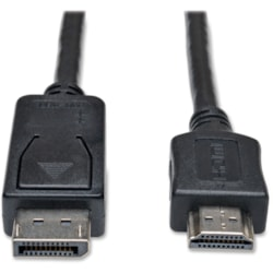 Tripp Lite 6ft DisplayPort to HDMI Adapter Cable Video / Audio Cable DP M/M
