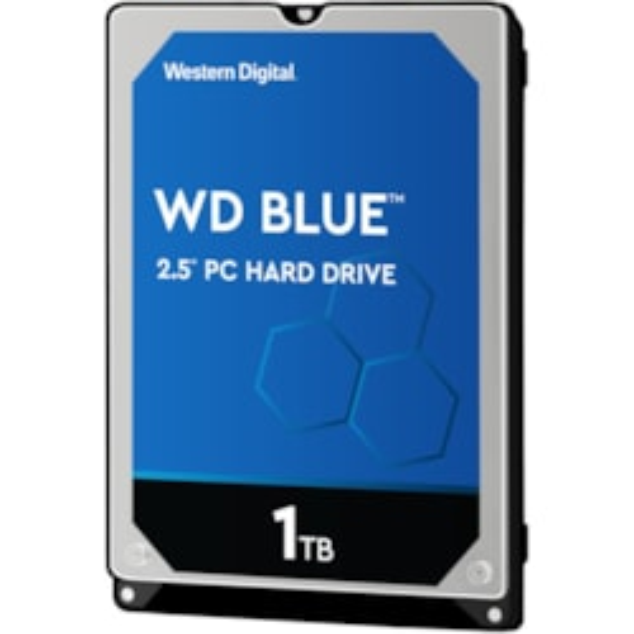 """WD Blue WD10SPZX 1 TB Hard Drive - 2.5"""" Internal - SATA (SATA/600)"""