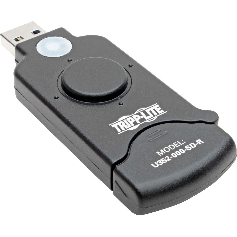 Tripp Lite USB 3.0 SuperSpeed SDXC Memory Card Media Reader / Writer 5Gbps