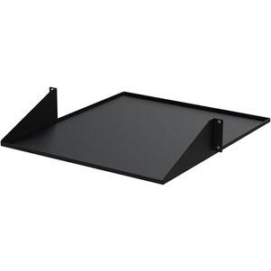 StarTech.com 2U Rack-mountable Rack Shelf for LAN Switch, Patch Panel, Server - 482.60 mm Rack Width - Black