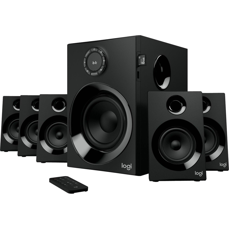 Logitech Z607 5.1 Bluetooth Speaker System - 80 W RMS