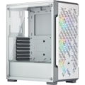 Corsair iCUE 220T RGB Computer Case - Mini ITX, ATX, Micro ATX Motherboard Supported - Mid-tower - Steel, Tempered Glass - White