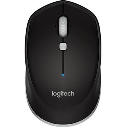 Logitech M337 Mouse - Bluetooth - Optical - Black