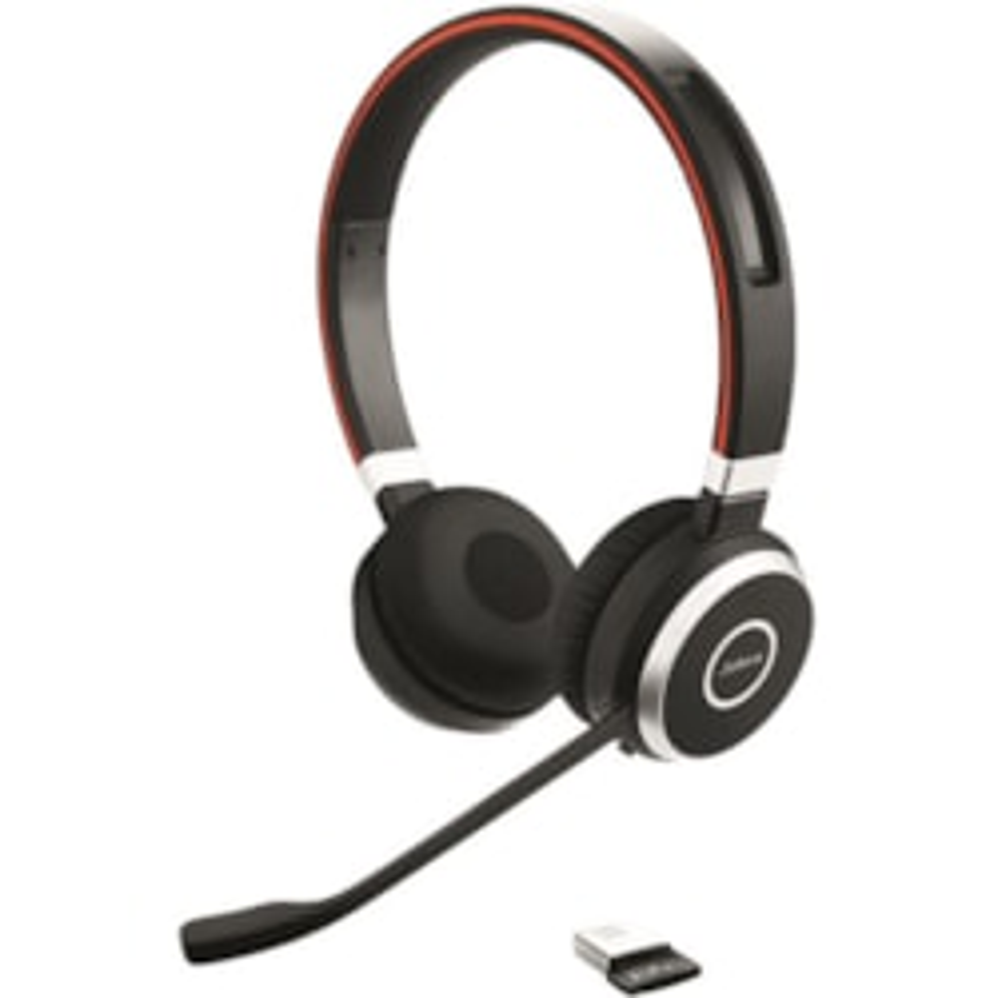 Jabra EVOLVE 65 UC Wireless Over-the-head Stereo Headset