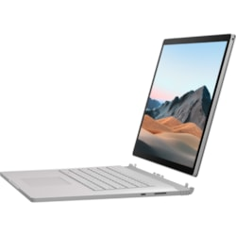 "Microsoft Surface Book 3 38.1 cm (15"") Touchscreen 2 in 1 Notebook - 3240 x 2160 - Intel Core i7 (10th Gen) i7-1065G7 Quad-core (4 Core) 1.30 GHz - 16 GB RAM - 256 GB SSD - Platinum"