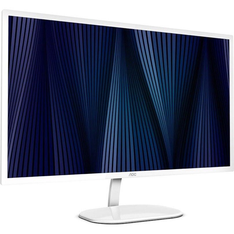 "AOC Q32V3S/WS 80 cm (31.5"") WQHD LED LCD Monitor - 16:9 - White, Silver"