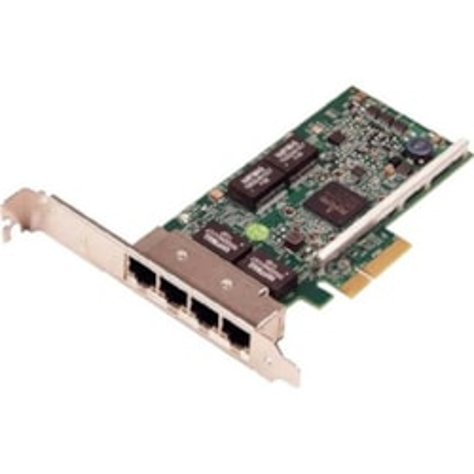 Dell 5719 QP Gigabit Ethernet Card for Server - 10/100/1000Base-T - Plug-in Card