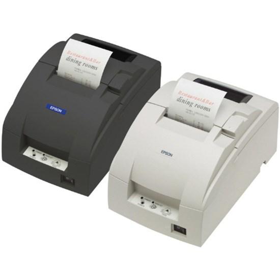 Epson TM-U220B Dot Matrix Printer - Monochrome - Receipt Print - USB - Dark Grey