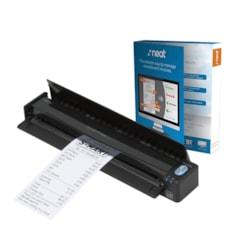 Fujitsu ScanSnap iX100 Mobile Scanner Powered with Neat