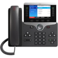 Cisco 8851 IP Phone - Corded/Cordless - Corded - Bluetooth - Desktop, Wall Mountable - Charcoal