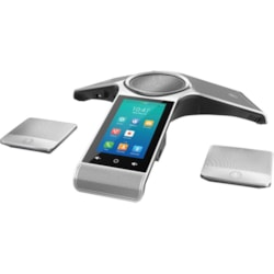 Yealink CP960 IP Conference Station - Corded/Cordless - Corded/Cordless - Bluetooth, Wi-Fi - Desktop - Classic Gray