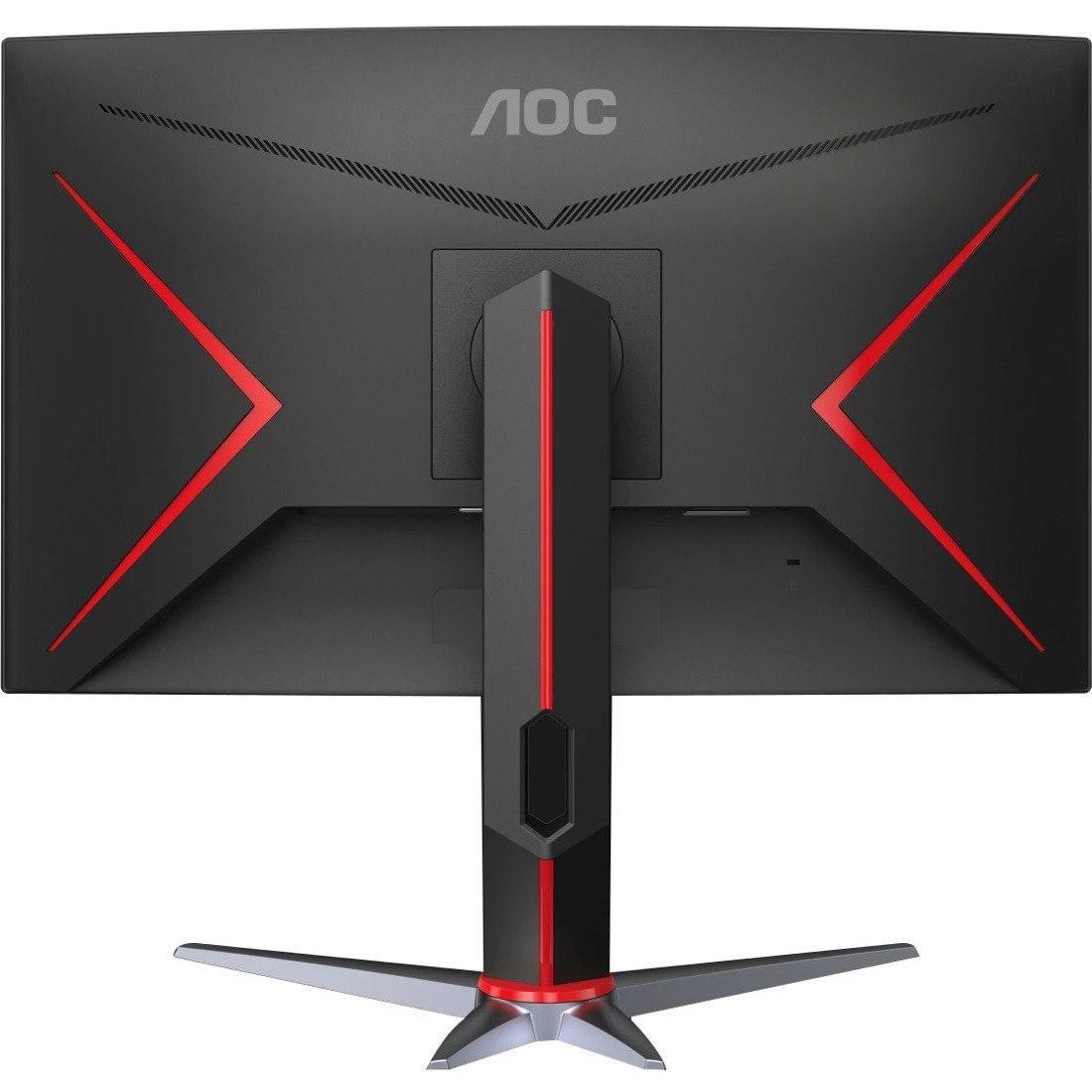 "AOC CQ27G2 68.6 cm (27"") WQHD Curved Screen WLED Gaming LCD Monitor - 16:9 - Black Red"