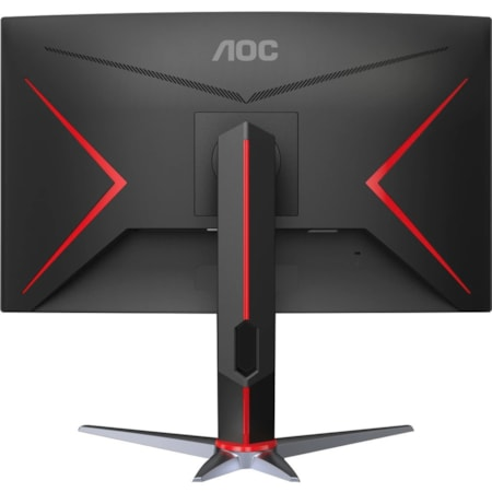 "AOC CQ27G2 68.6 cm (27"") WQHD Curved Screen WLED Gaming LCD Monitor - 16:9 - Black Red"