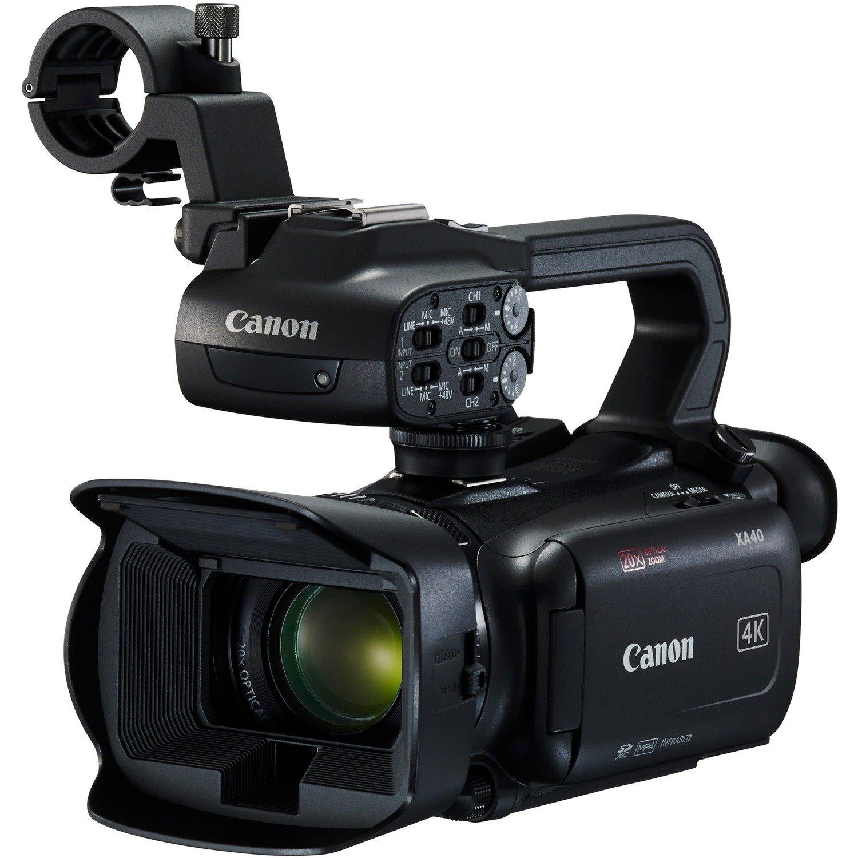 """Canon XA40 Digital Camcorder - 7.6 cm (3"""") LCD Touchscreen - CMOS - 4K"""