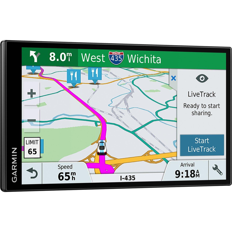 Garmin DriveSmart 61 LMT-S Automobile Portable GPS Navigator - Portable, Mountable