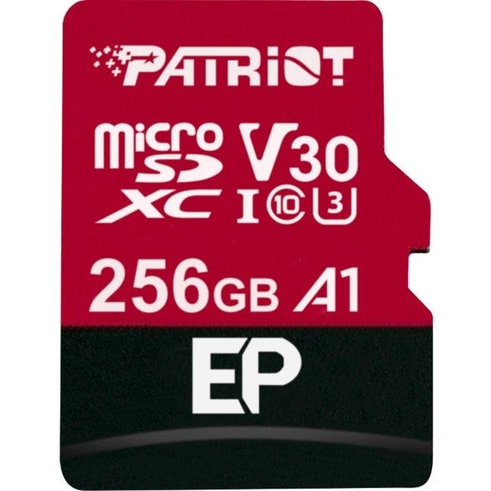 Patriot Memory 256 GB Class 10/UHS-I (U3) microSDXC