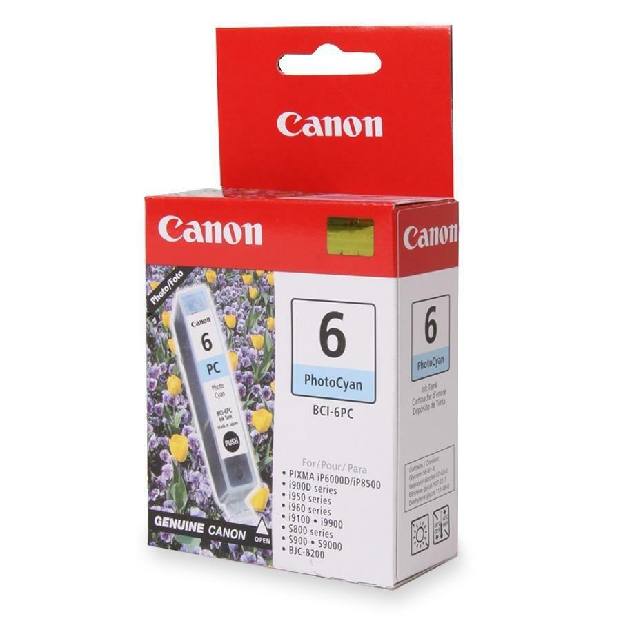 Canon BCI-6PC Original Ink Cartridge - Photo Cyan