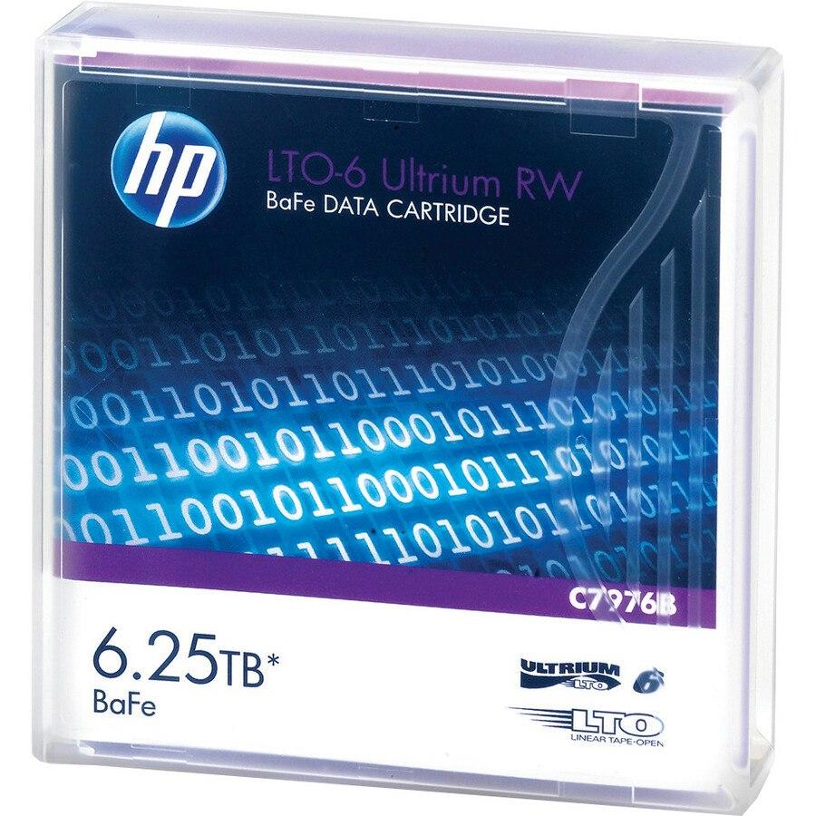 HP-IMSourcing LTO-6 Ultrium 6.25 TB BaFe RW Data Cartridge