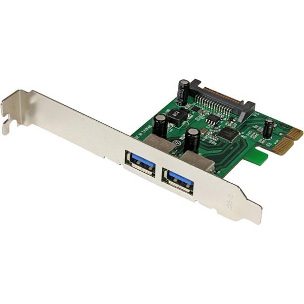 StarTech.com USB Adapter - PCI Express - Plug-in Card