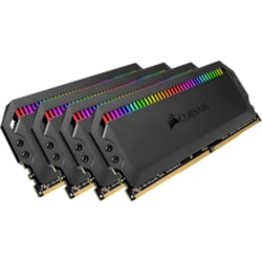 Corsair Dominator Platinum RGB RAM Module for Motherboard - 32 GB (4 x 8GB) - DDR4-3200/PC4-25600 DDR4 SDRAM - 3200 MHz - CL15 - 1.35 V