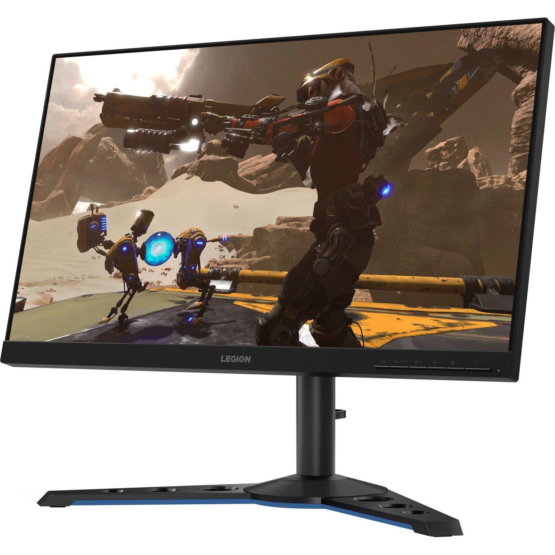 "Lenovo Legion Y25-25 24.5"" Full HD WLED Gaming LCD Monitor - 16:9 - Raven Black"
