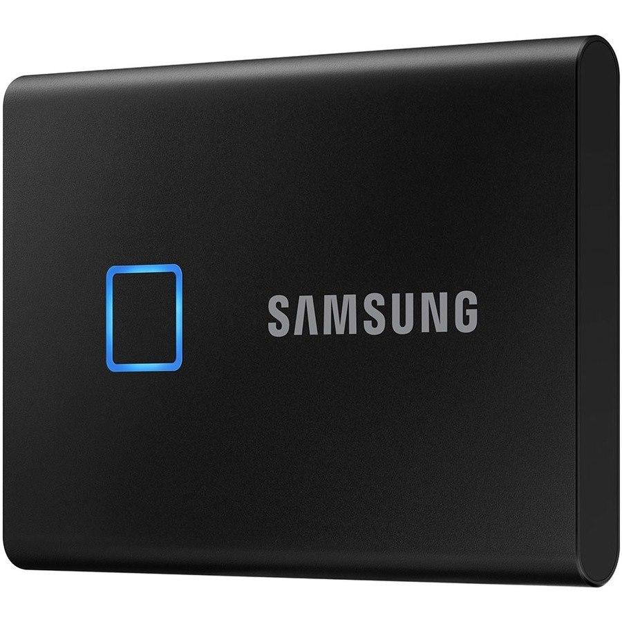Samsung T7 MU-PC500K/WW 500 GB Portable Solid State Drive - External - PCI Express NVMe - Black