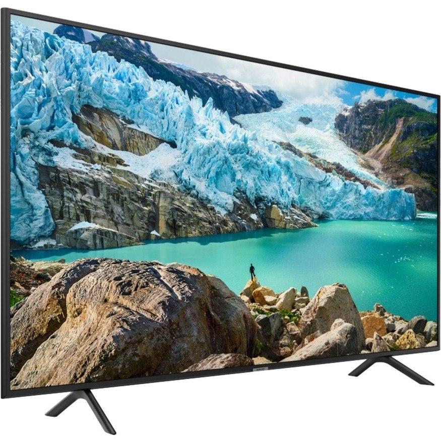"Samsung RU710 HG50RU710NF 49.5"" LED-LCD TV - 4K UHDTV - Charcoal Black"