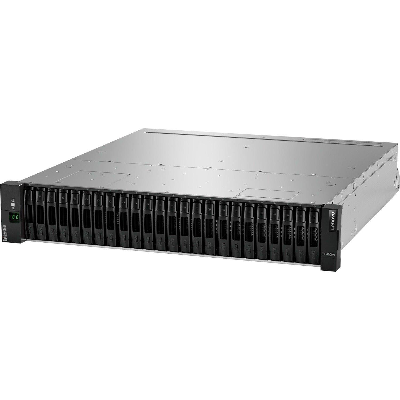 Lenovo ThinkSystem DE4000H 24 x Total Bays DAS/SAN Storage System - 2U Rack-mountable