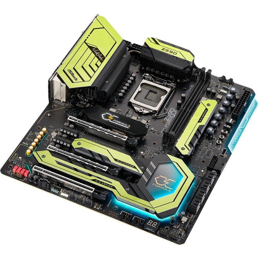 ASRock Z590 OC Formula Desktop Motherboard - Intel Chipset - Socket LGA-1200 - Intel Optane Memory Ready - Extended ATX