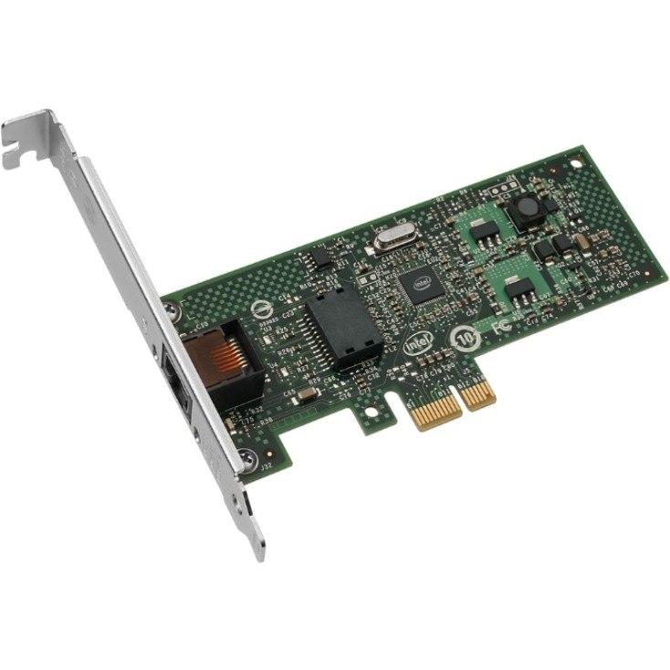 Intel EXPI9301CTBLK Gigabit Ethernet Card for PC - 10/100/1000Base-T - Plug-in Card