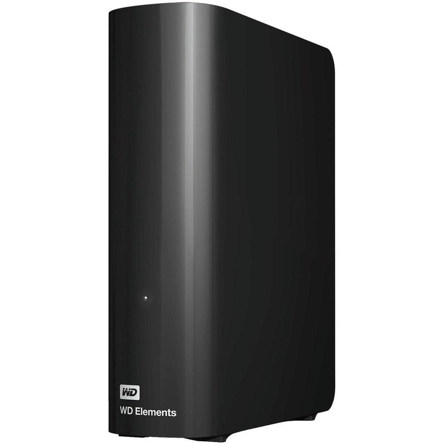 "WD Elements WDBBKG0100HBK-AESN 10 TB Desktop Hard Drive - 3.5"" External"