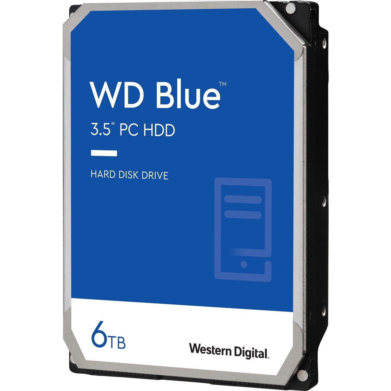 "WD Blue WD60EZAZ 6 TB Hard Drive - 3.5"" Internal - SATA (SATA/600)"